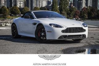 Used 2014 Aston Martin V8 Vantage S Roadster Sportshift II *Certified! for sale in Vancouver, BC