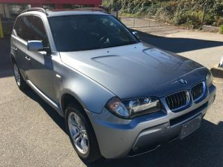 Used 2006 BMW X3 4dr SUV AWD 3.0i for sale in Surrey, BC