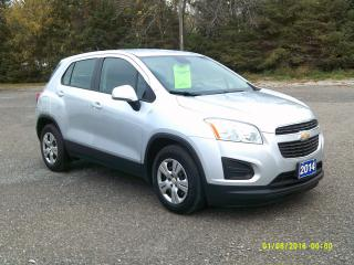 Used 2014 Chevrolet Trax LS for sale in Beaverton, ON