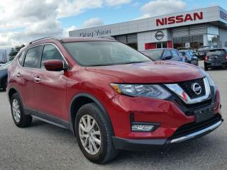 Used 2017 Nissan Rogue SV AWD w/heated seats,rear cam,sxm radio,cruise for sale in Cambridge, ON