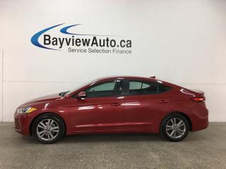 Used 2017 Hyundai Elantra GL - ALLOYS! HTD STS! BSD! A/C! ANDROID AUTO! REV CAM! BLUETOOTH! HTD WHEEL! CRUISE! for sale in Belleville, ON