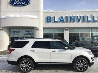 Used 2017 Ford Explorer Platinum for sale in Blainville, QC
