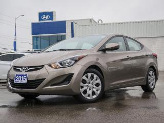 Used 2015 Hyundai Elantra GL for sale in London, ON