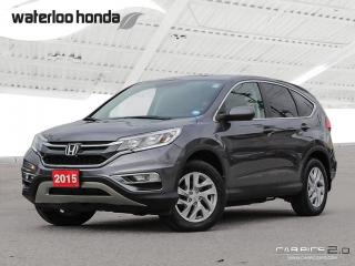 Used 2015 Honda CR-V EX-L Bluetooth, Back Up Camera, AWD, Heated Seats and more! for sale in Waterloo, ON