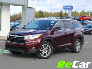 Used 2016 Toyota Highlander XLE | AWD | HEATED LEATHER | NAV for sale in Fredericton, NB