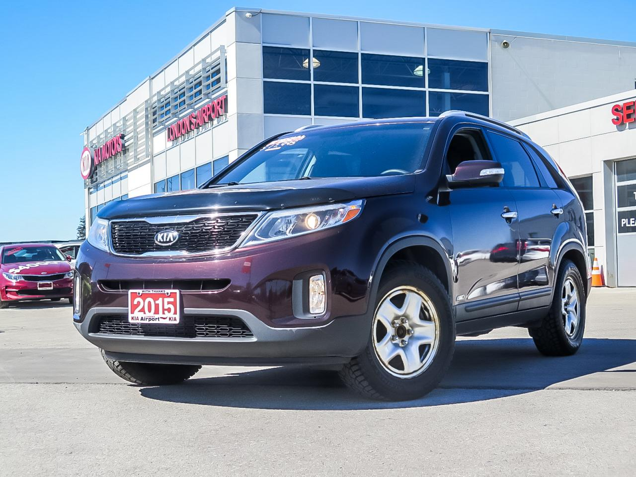 Airport Kia London >> Used 2015 Kia Sorento For Sale In London Ontario Carpages Ca