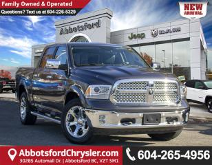 Used 2018 RAM 1500 Laramie *ACCIDENT FREE* *LOCALLY DRIVEN* for sale in Abbotsford, BC