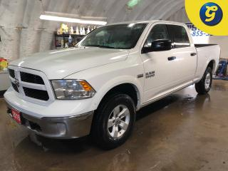 Used 2018 Dodge Ram 1500 OUTDOORSMAN*CREW CAB*4X4*HEMI*U CONNECT TOUCH SCREEN*REVERSE CAMERA*HANDS FREE PHONE/STEERING CONTROL/VOICE RECOGNITION*PENDALINER BED LINER* for sale in Cambridge, ON