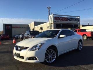 Used 2012 Nissan Altima 3.5SR - 2 DR - LEATHER - SUNROOF for sale in Oakville, ON