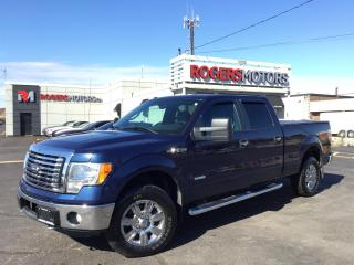 Used 2012 Ford F-150 ECOBOOST 4X4 - CREW CAB for sale in Oakville, ON