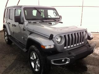 New 2018 Jeep Wrangler Unlimited Sahara for sale in Ottawa, ON