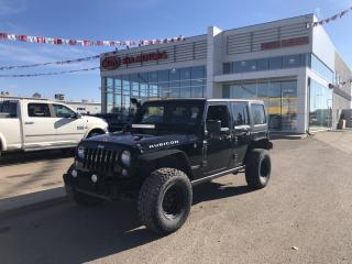 Used 2014 Jeep Wrangler Unlimited Rubicon for sale in Red Deer, AB