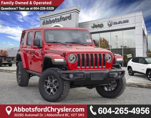 New 2018 Jeep Wrangler Unlimited Rubicon for sale in Abbotsford, BC