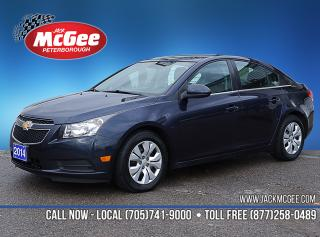 Used 2014 Chevrolet Cruze 1LT 1.4L Turbo, Clth Bkts, Cruise Ctrl, Ltr Wrapped Wheel, Rmt Start for sale in Peterborough, ON