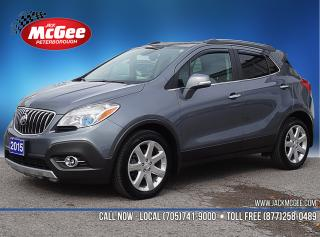Used 2015 Buick Encore Leather 1.4L Turbo, Htd Ltr Bkts, Sunroof, NAV, Bose, 18
