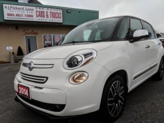 Used 2014 Fiat 500 L Lounge CERTIFIED!!!!!! LOADED UP!! for sale in Bolton, ON