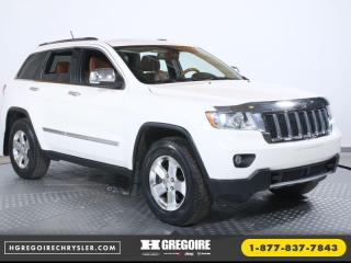 Used 2012 Jeep Grand Cherokee OVERLAND BLUETOOTH for sale in St-Jérôme, QC