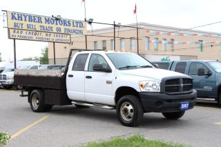 Used 2007 Dodge Ram 3500 10FT L*7.5ft Width*Dually for sale in Brampton, ON
