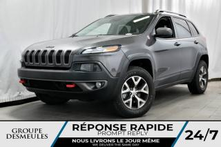 Used 2015 Jeep Cherokee TRAILHAWK ÉLITE + GPS + TECH PACK for sale in Laval, QC