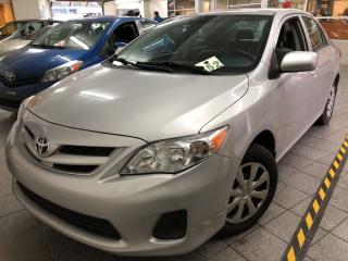 Used 2011 Toyota Corolla A/c + Vi + Cruise for sale in Montréal, QC