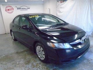 Used 2010 Honda Civic DX for sale in Ancienne Lorette, QC