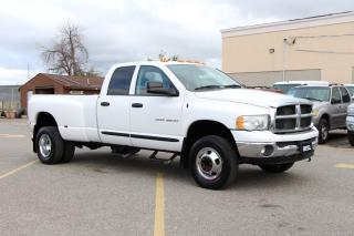 Used 2005 Dodge Ram 3500 SLT for sale in Brampton, ON