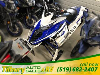 Used 2016 Yamaha SRVIPER X-TX SE 141 Fresh trade in. Ready for this Winter! for sale in Tilbury, ON