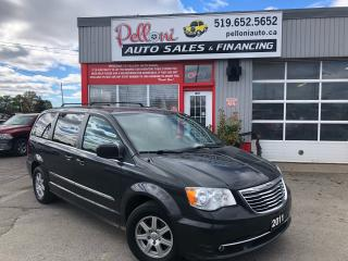 Used 2011 Chrysler Town & Country TOURING, DVD, SUNROOF, STOW N GO for sale in London, ON