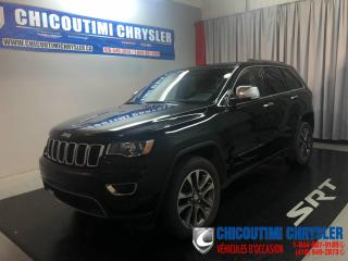 Used 2018 Jeep Grand Cherokee LIMITED 4X4 for sale in Chicoutimi, QC