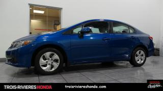 Used 2013 Honda Civic LX for sale in Trois-Rivières, QC
