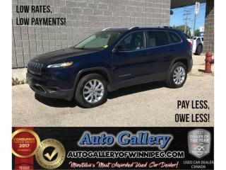 Used 2015 Jeep Cherokee Limited for sale in Winnipeg, MB