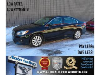 Used 2016 Subaru Legacy 2.5i w/Touring & Tech Pkg for sale in Winnipeg, MB
