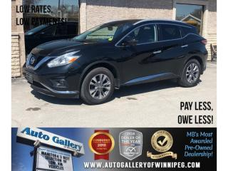 Used 2016 Nissan Murano SL *AWD/Navi/Lthr/Sunroof for sale in Winnipeg, MB