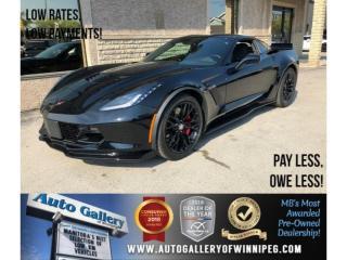Used 2018 Chevrolet Corvette Z06 3LZ *Supercharged/Lthr/Navi for sale in Winnipeg, MB