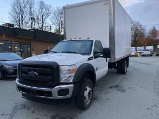 Used 2016 Ford F-550 F550, Chassis Cab , Diesel , avec boite for sale in Sherbrooke, QC