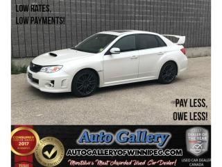 Used 2014 Subaru WRX STI for sale in Winnipeg, MB