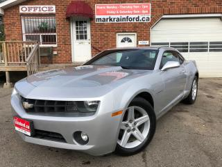 Used 2011 Chevrolet Camaro 1LT 6 spd Manual Leather for sale in Bowmanville, ON