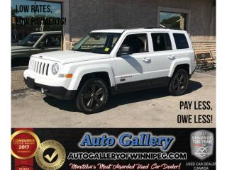 Used 2016 Jeep Patriot 75th Anniversary for sale in Winnipeg, MB