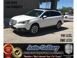 Used 2016 Subaru Outback 3.6R w/Limited Pkg for sale in Winnipeg, MB
