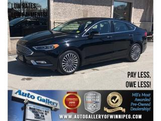 Used 2017 Ford Fusion SE *AWD/Navi/Lthr/Roof/Backup Cam for sale in Winnipeg, MB