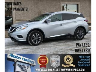Used 2016 Nissan Murano SL *AWD/Navi/Lthr/Pano Roof for sale in Winnipeg, MB