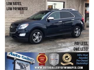 Used 2016 Chevrolet Equinox LTZ *AWD/Navi/Htd Lthr/Roof/Backup Cam for sale in Winnipeg, MB