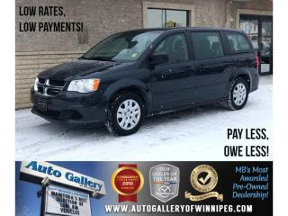 Used 2014 Dodge Grand Caravan SE *7 Pass/Rear Air & Heat for sale in Winnipeg, MB