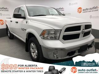 Used 2015 RAM 1500 Outdoorsman 4x4 Crew Cab for sale in Red Deer, AB