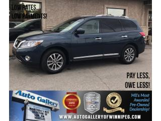 Used 2014 Nissan Pathfinder SL *AWD/Lthr/Backup Cam/Bluetooth for sale in Winnipeg, MB
