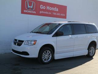 Used 2016 Dodge Grand Caravan SXT, WHEELCHAIR ACCESSIBLE, FULL HAND OPERATION for sale in Edmonton, AB