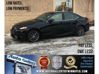 Used 2015 Lexus IS 250 *AWD/Htd Lthr/Roof/Backup Cam for sale in Winnipeg, MB