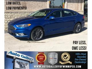 Used 2017 Ford Fusion SE *Leather/Sunroof/Navi for sale in Winnipeg, MB