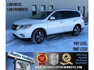 Used 2014 Nissan Pathfinder Platinum for sale in Winnipeg, MB