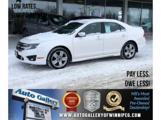 Used 2011 Ford Fusion SPORT for sale in Winnipeg, MB